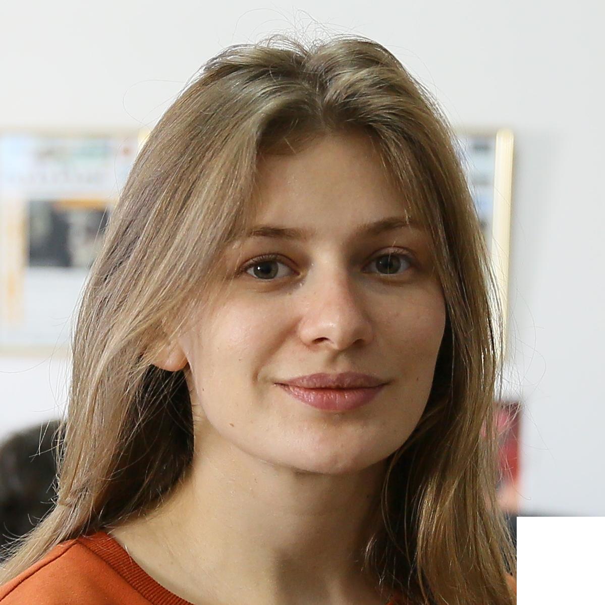 Portrait von Yuliana Romanyshyn