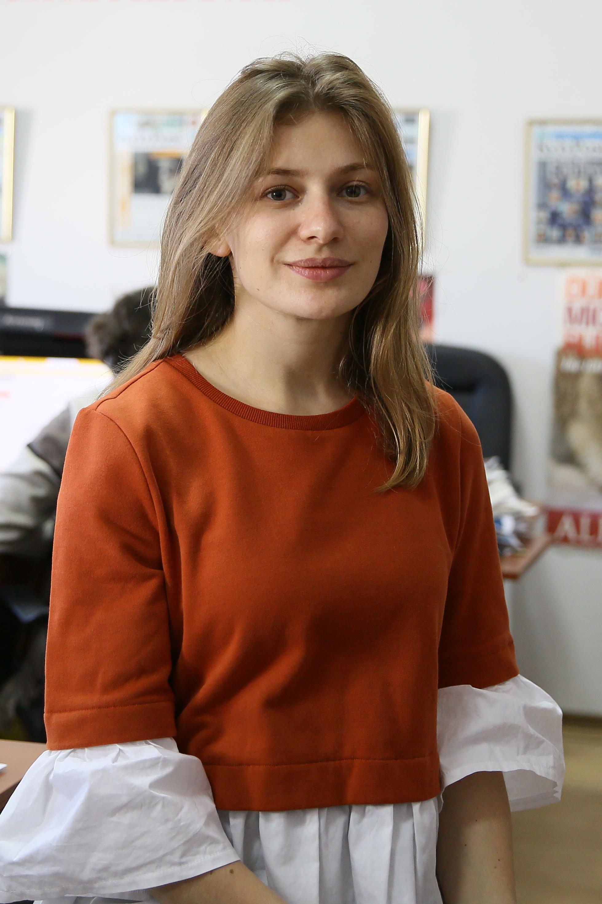 Porträt Yuliana Romanyshyn