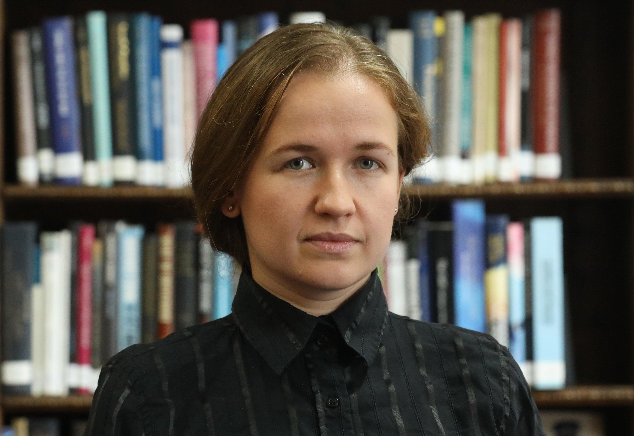 Portrait von Anna Korbut