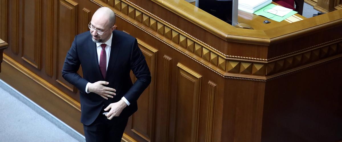 Der neue Premierminister der Ukraine Denys Schmyhal