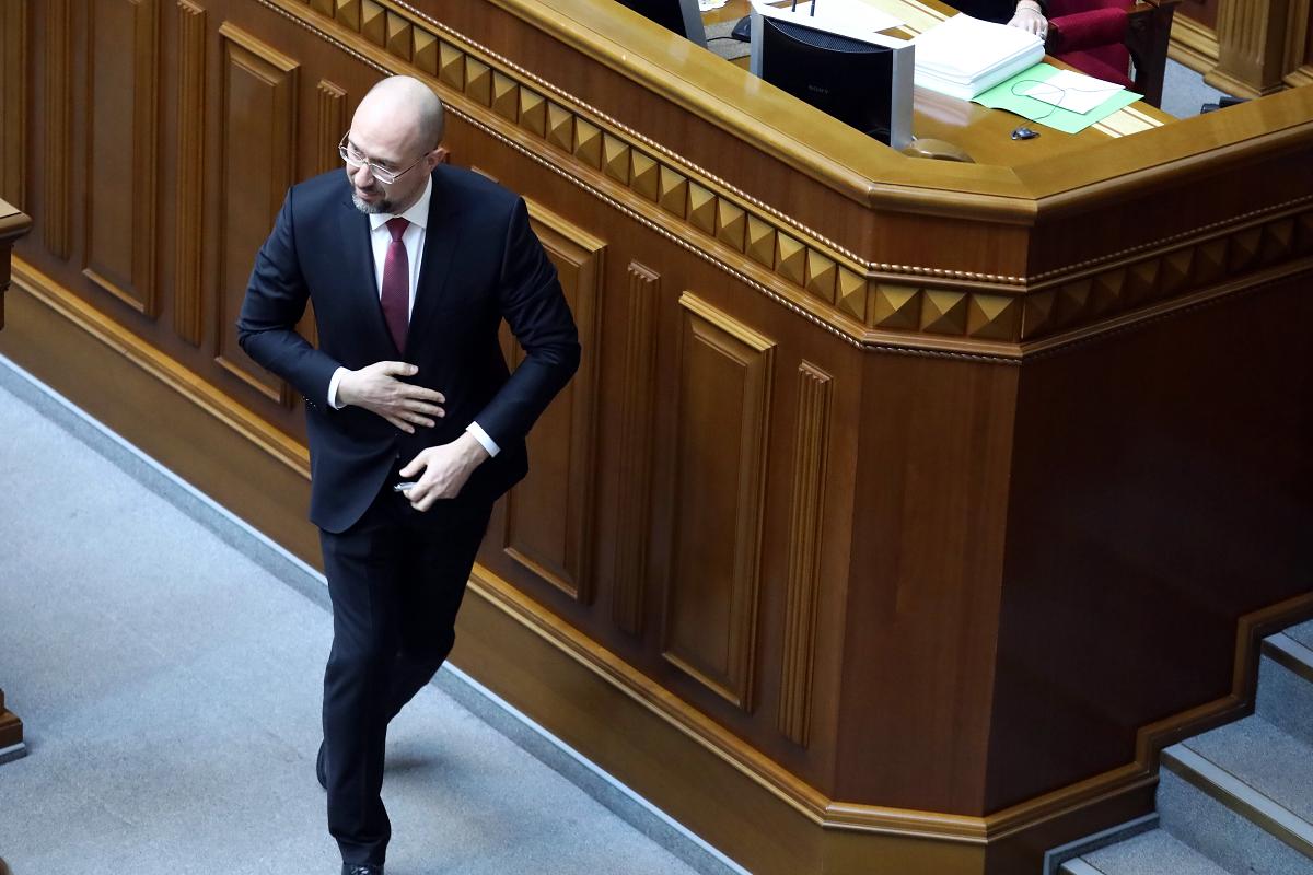 Denys Schmyhal, der neue Premierminister der Ukraine