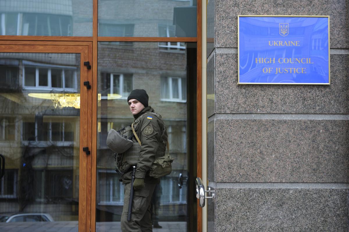 ukrainische Justizreform vorm Ende